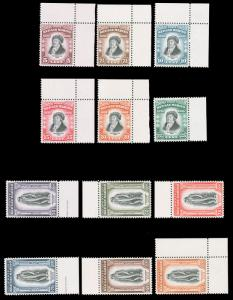 San Marino 1935 DELFICO SET MNH #169-180 all with selvages and extremely fine...