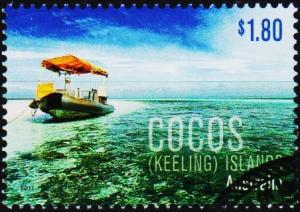 Cocos(Keeling)Islands. 2011 $1.80 Fine Used