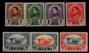 Thailand 243-249 Mint Hinged