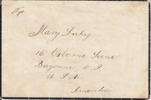 Hungary Sc 414 on 1927 Mourning Cover to New Jersey