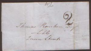 Scotland 1848 E With Upp 2 Of Edinburgh