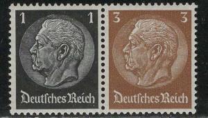 Germany Scott # 415, 416, mint nh, se-tenant, Mi# W95