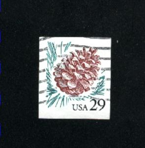 USA #2491  3 used  1993-95 PD .08