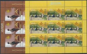 Makedonien stamp Europa CEPT minisheet set 2007 MNH Mi 430-431 WS189975