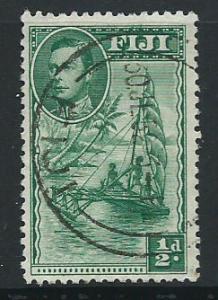 Fiji  GVI SG 249b  VFU perf 12