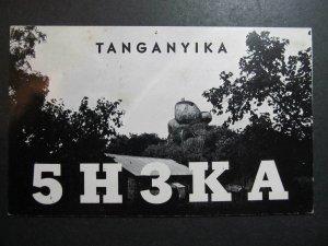 10308 Amateur Radio QSL Card 1970 Mbeya Tanzania