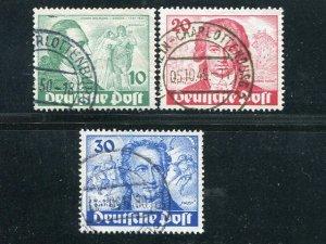 Germany #9N61-63  Used VF   - Lakeshore Philatelics