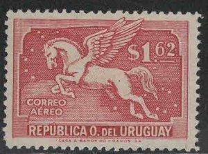 Uruguay Scott C78 MH* Pegasus Airmail