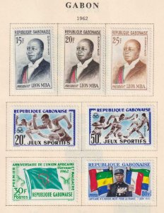GABON  INTERESTING COLLECTION - REMOVED FROM ALBUM PAGES - Y984