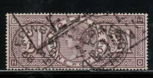 Great Britain #110 Very Fine Used With Deep Color