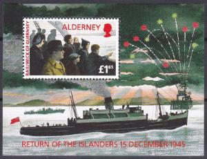 Alderney 90 MNH (1995)