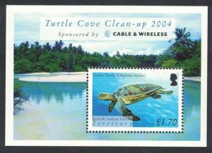 BIOT Turtles MS SG#MS318 SC#296
