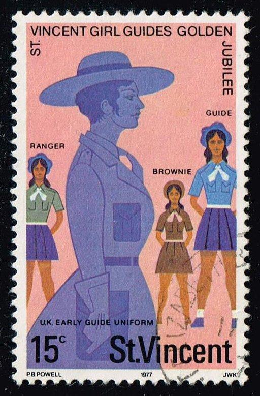 St. Vincent #505 Early Girl Guide Uniforms; Used (0.25)