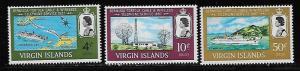 Virgin Island MNH 183-5 Telephone Link 1967
