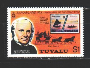 Tuvalu. 1979. 111 from the series. Stamps on the drug. MNH.