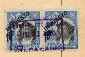 Chile 1905 Early Issue Fine Used 5c. NW-09237