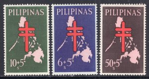 Philippines MNH B23-5 Map Of Philippines & Cross
