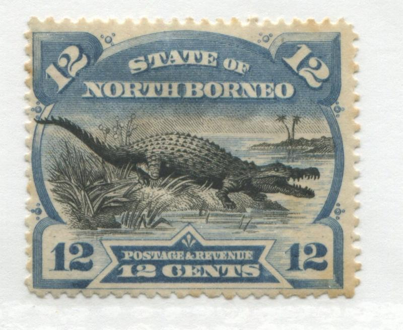 North Borneo 1894 12 cents mint o.g.