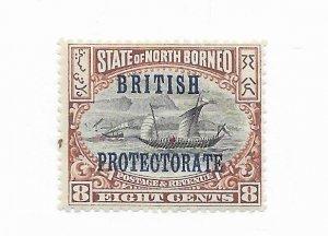 Borneo #111 New Offset?? MH - Stamp - CAT VALUE $4.25+