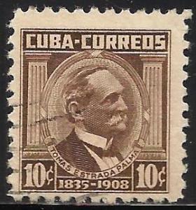 Cuba 1954 Scott# 524 Used