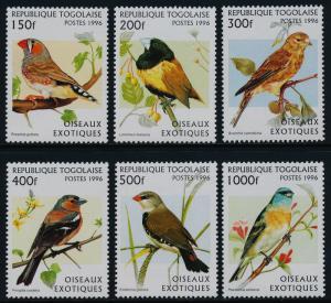 Togo 1784-9A MNH Birds