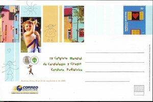 PS-167 ARGENTINA 2005 P STATIONARY MEDICIN CARDIOLOGY WORLD CONGRES UNUSED