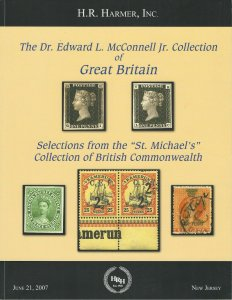 Great Britain & Commonwealth, H.R. Harmer, New Jersey, Sale 2976, June 21, 2007