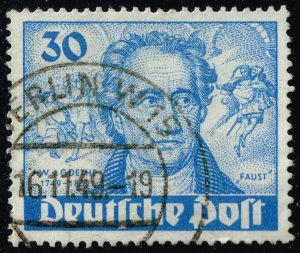 Germany #9N63 Goethe and Faust; Used (3Stars)