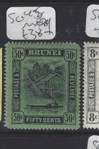 BRUNEI  (P0112B)  RIVER  50 C  SG 45     MOG