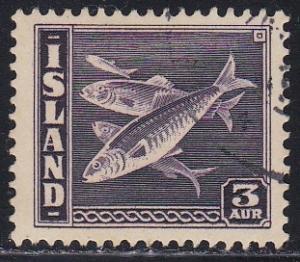 Iceland # 218, Herring, Used, Third Cat.