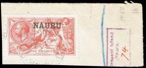 Nauru Scott 14b Gibbons 17 Used Stamp