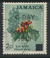 Jamaica SG 281 Used  SC# 280  Decimal Currency OPT see details