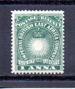 British East Africa 15 MH (A)