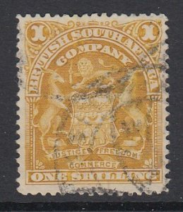 RHODESIA, Scott 66, used (crease)