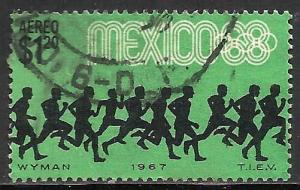 Mexico Air Mail 1967 Scott# C329 Used