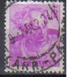 ITALY, 1961, used 15L,  Michelangiolesca