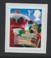 Great Britain SG 3129 Used   Christmas 2010 Wallace and Gromit SC# 2849b