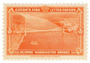 (I.B) US Cinderella : Eaton's Fine Letter Papers (Washington Bridge)