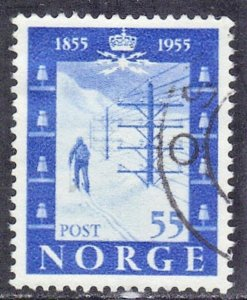 NORWAY SC# 336 *USED* 55o  1954  SEE SCAN