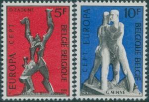 Belgium 1974 SG2350-2351 Europa set MNH