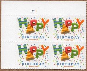 Scott 5635 Happy Birthday - MNH Plate Block, U Left