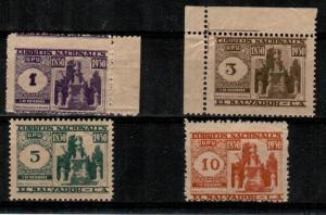 Salvador Scott 516-19 Mint NH