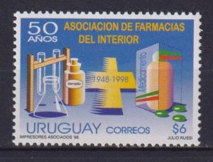Uruguay 1998 The 50th Anniversary of the Association of Pharmacies  (MNH)  - Pha