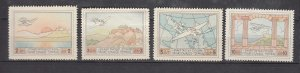 J26100  jlstamps 1926 greece set mh #c1-4 airplanes airmails , 2 scans