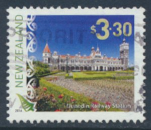 New Zealand   SC# 2648 Dunedin Railway Station  Used see detail and scan