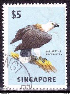 SINGAPORE 1963 $5 Multicoloured SG77 FU