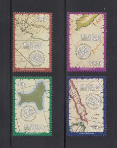 Christmas Island Scott #307-310 MNH