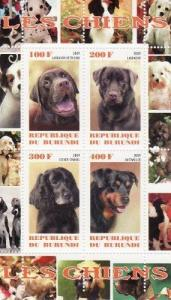 Dogs -  Sheet of 4  - 2J-029