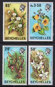 Seychelles 280-283 Flowers MNH VF