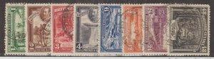 British Guiana Scott #210-217 Stamps - Used Set